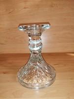 Üveg gyertyatartó 13 cm magas (23/d)