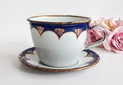 Régi Lampart zománcos csésze