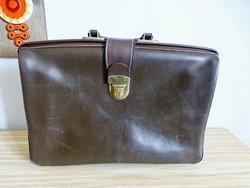 Régi,retro,kiváló állapotú,bőr akta táska,diplomata táska