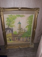 30×40cm es akvarell eladó
