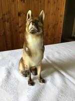 Porcelán kutya (sérült)(Royal dux)