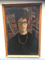 Gádor Emil : Női portré