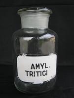 Régi fedeles gyógyszeres patika üveg