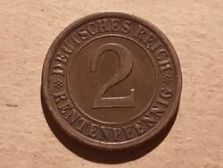 Német Birodalmi 2 Pfennig 1924