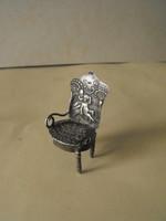 Antik ezüst fotel