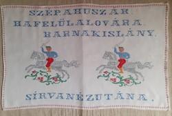 Hazafias Huszár Falvédő.