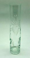 B581 Kristály üveg váza - hibátlan szép állapotban