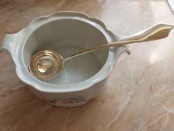 Ezüst levesmerőkanál cc.120 éves