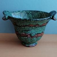 Dekoratív Gorka Géza iv kerámia váza