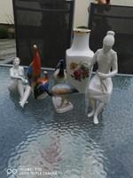 Kézzel festett Hollóházi figurák nipp