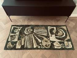 Csodaszép retro mokett, hibátlan állapotban, szőnyeg, faliszőnyeg