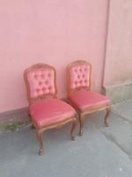 Antik neobarokk gyermek székek