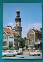Magyarország,Sopron,Előkapu a Tűztoronnyal ,postatiszta képeslap, 1980