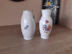 Hollóházi váza, 12cm magas vázák