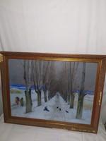 1,-Ft Farkas András galériás festménye
