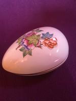 Herendi viktória mintás tojás bonbonier,hibátlan