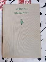 Kertészek kézikönyve 1965-ös kiadás
