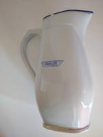 Zsolnay art deco csészék, 5 db és Utasellátó kancsó