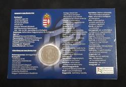 Nemzeti emlékhelyek. 50 Forint 2015, elsőnapi veret.