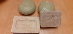 Minőségi FLORA SZINSZAPPAN és 2 gömbölyű CAOLA szappan + 1 db BAREN SE FE - 40-50 éves