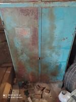 Retró, loft,Ipari fém szekrény