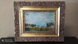 Gábri Albert ,,Táj,, festménye