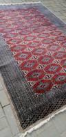 Kézi csomózású Pakisztáni Lahore szőnyeg szép állapotban. ALKUDHATÓ!