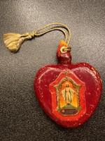 Budapesti Nemzetközi Eucharisztikus Kongresszus 1938 Jézus szíve faragvány