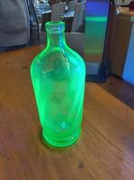 Antik ,,uránnal dúsított ,,gyüjtői szódás üveg  1910 környékéről