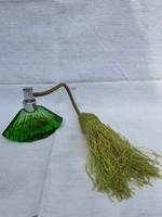 Antik Pumpás Parfümös Üveg.