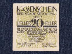 Ausztria Stockerau 20 heller szükségpénz 1919 (id7455)