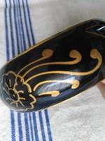 Arany-fekete szín karkötő, sárgaréz belsővel