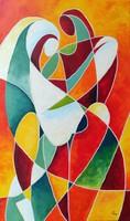 B. Preszecsán Hajnalka-festmény/vászon 50x30cm