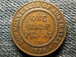 Ausztrália VI. György (1936-1952) 1/2 Penny 1938 (id49229)
