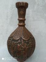 Antik perzsa bronz váza (iszfahán) 19.sz. vége-20.sz. eleje