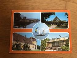 Balatonmáriafürdő - Balatonkeresztúr képeslap