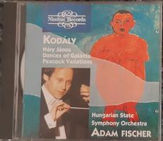 KODÁLY MŰVEKET DIRIGÁL FISCHER ÁDÁM    CD