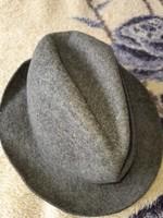 Férfi kalap szürke