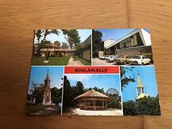 Boglárlelle képeslap