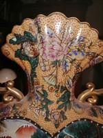 Nagyméretű Kinai kézzel festett váza