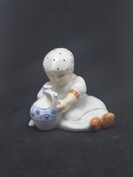 ZSOLNAY Annuska, hibátlan, jelzett porcelán