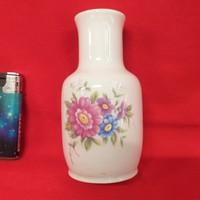 Hollóházi Virág Mintás Váza 12.5 cm