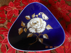 Wallendorf Echt Kobalt asztalközép