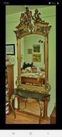 Kastély tükör. Reneszánsz Egyedi