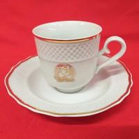 Hollóházi Douwe Egberts kávés csésze