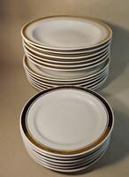 Alföldi arany szegélyes tányér készlet 18 db -os