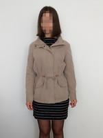 Only vékony, bélelt, átmeneti női kabát - S-M / 36-40 + ajándék kendő