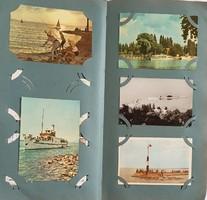 515db képeslap csomag Balaton,Városok,Színészek,Ünnepek,berakóban