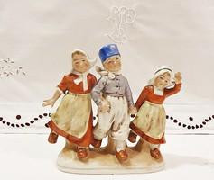 Eladó nagy méretű, antik, BERTRAM, W&A (Wagner & Apel ) a 3 barát.