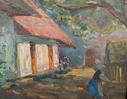 Bényi László, Falusi udvar